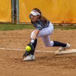 Girls JV Softball falls to Montgomery
