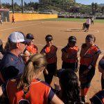 Girls Varsity Softball falls to West Hills 5 – 3