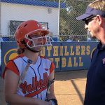 Girls Varsity Softball falls to Granite Hills