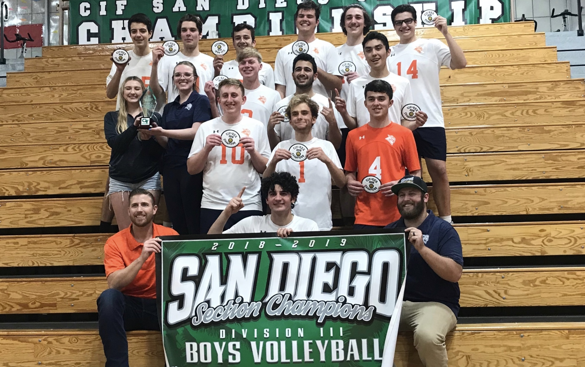 CIF Championship for Boys Volleyball with Win over Grossmont