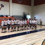 Girls Junior Varsity Volleyball beats Helix 2 – 0