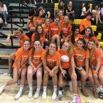 Girls Varsity Volleyball beats Patrick Henry 3 – 0