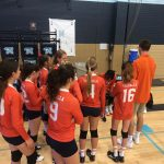 Girls Junior Varsity Volleyball beats Maranatha Christian 2 – 1