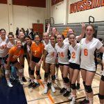 Girls Freshman Volleyball beats Granite Hills 2 – 1