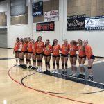 Girls Varsity Volleyball beats Christian 3 – 0