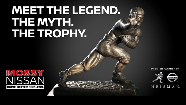STRIKE A HEISMAN POSE WITH THE HEISMAN AND WIN AT MOSSY NISSAN | Presented by VNN