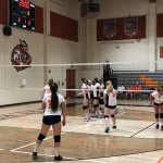 Girls Freshman Volleyball beats Francis Parker 2 – 0