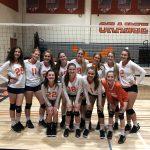 Girls Junior Varsity Volleyball beats Francis Parker 2 – 0