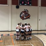 Girls Freshman Volleyball falls to  Steele Canyon 0-2