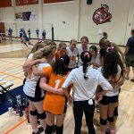 Girls Freshman Volleyball beats Grossmont 2 – 0