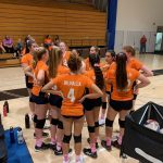 Girls Freshman Volleyball falls to West Hills 2 – 0