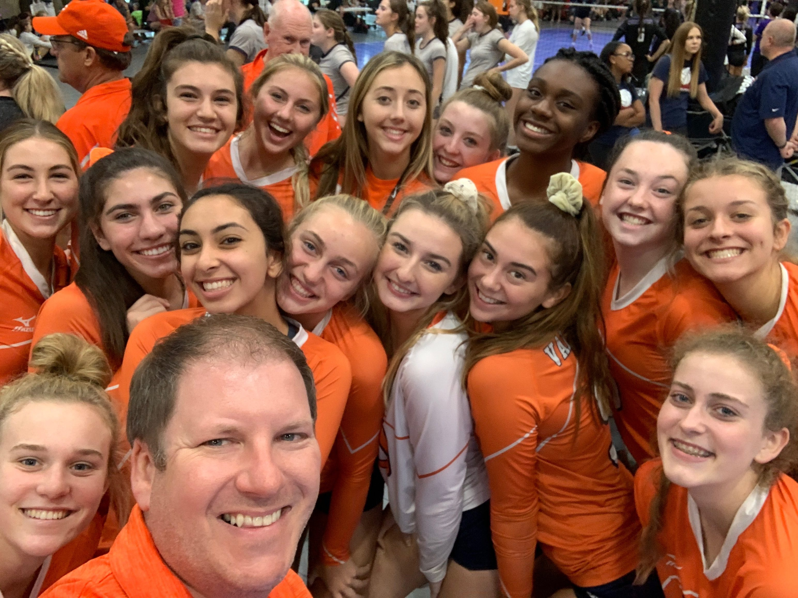 Girls Varsity Volleyball finishes 8th in Nike TOC in AZ