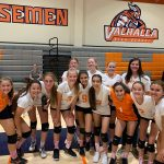 Girls Freshman Volleyball beats West Hills 2 – 1
