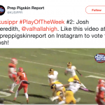 Vote for Josh Meredith for KUSI's Play of the Week!