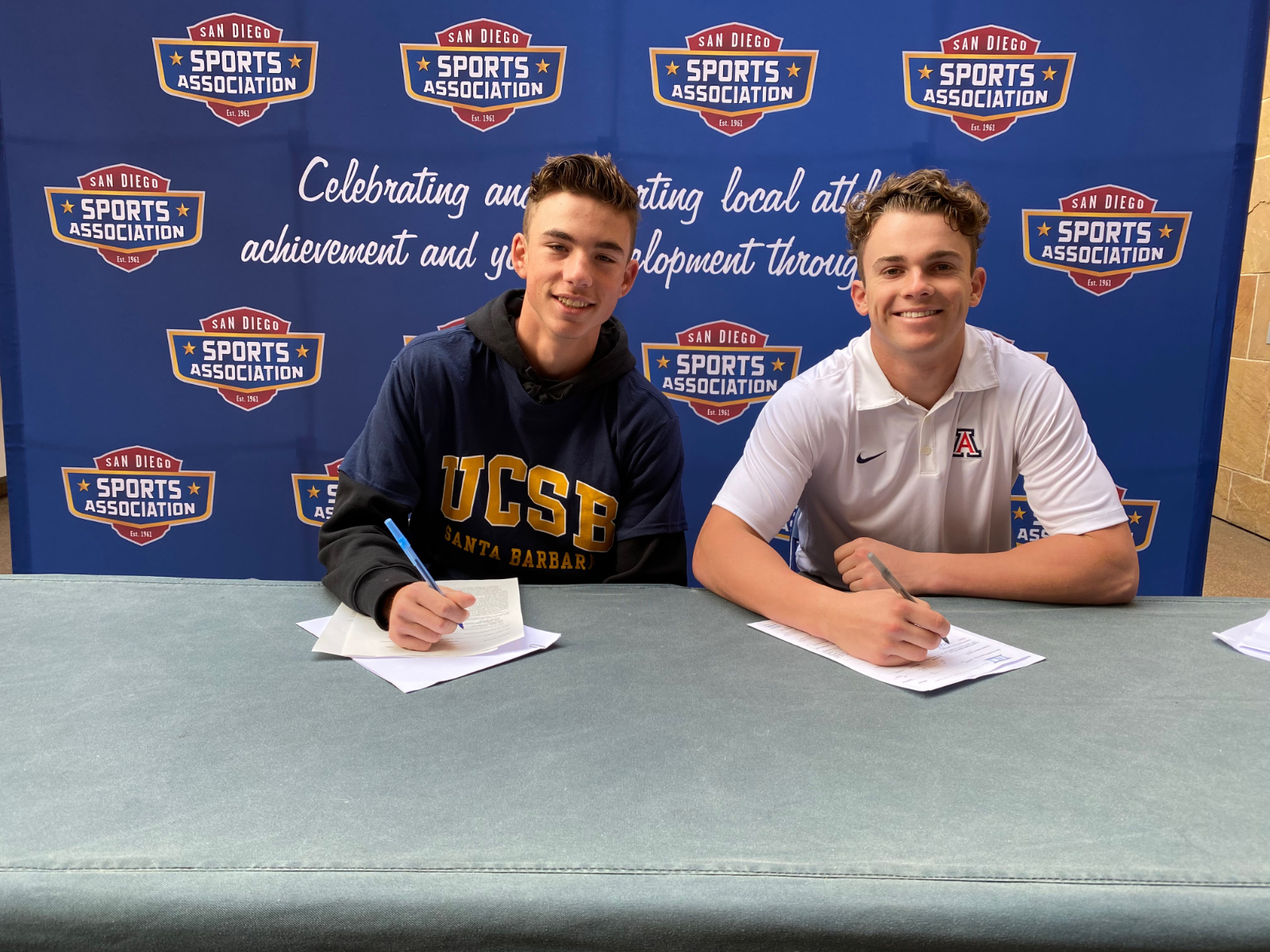 Two Norsemen Baseball Players sign College Letters of Intent
