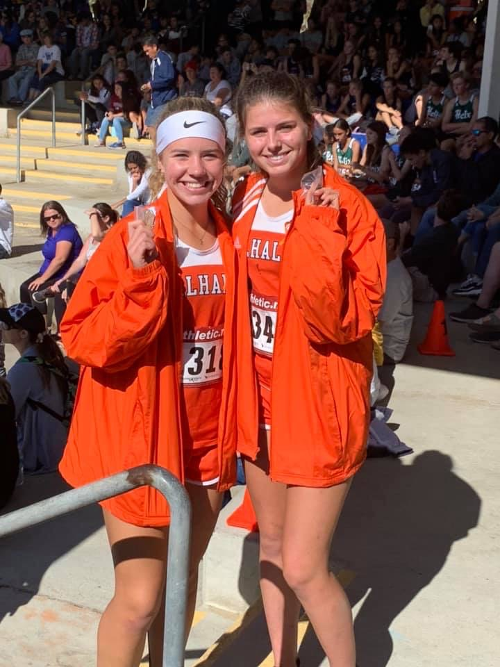 Cross Country Girls Take All-League Honors