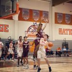 Boys Varsity Basketball falls to Kearny 48 – 45