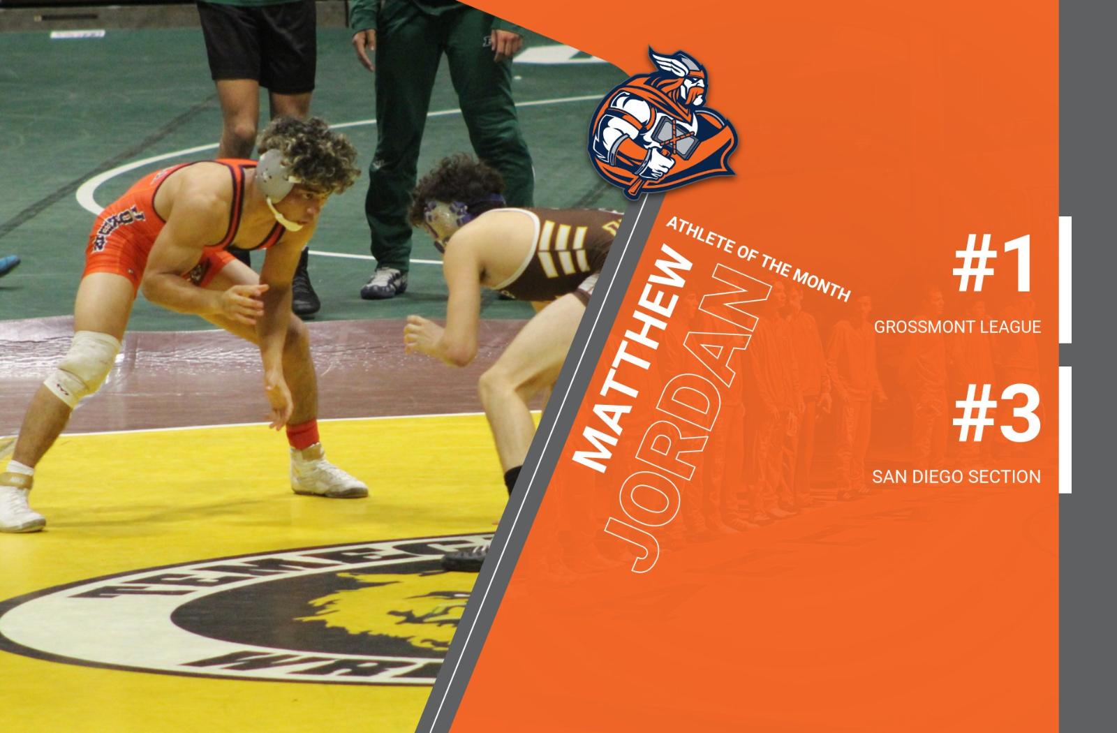 Matthew Jordan – Valhalla's Athlete of the Month!