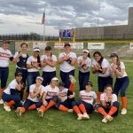 Girls Varsity Softball beats University City 2 – 1
