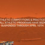All Athletic Games, Practices and Activities Suspended