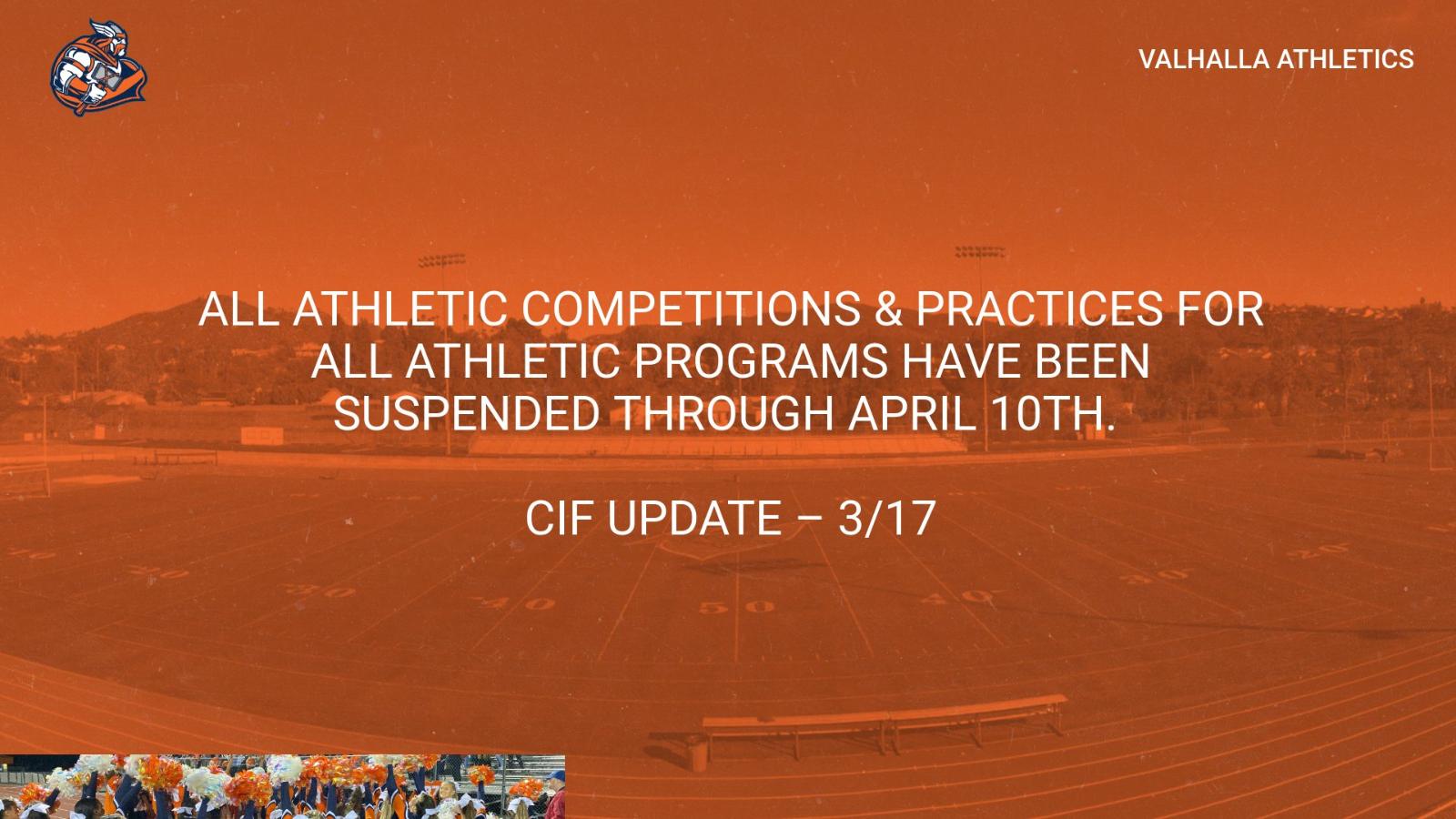 CIF UPDATE – 3/17