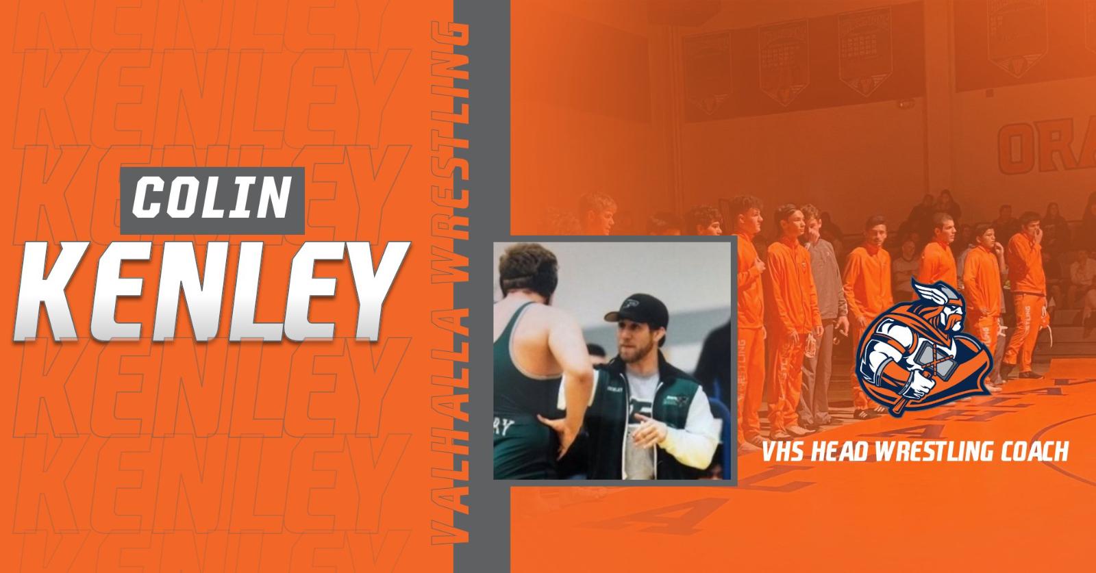New Head Wrestling Coach – Colin Kenley