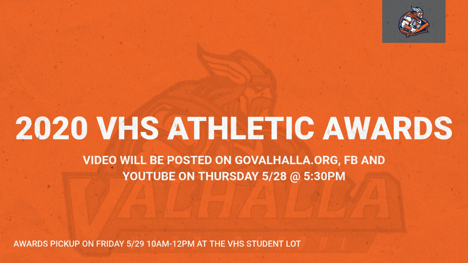 2020 VHS Athletic Awards
