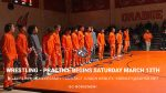 Wrestling Practice Begins Saturday March 13th
