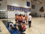 Girls Freshman Volleyball falls to West Hills 2 – 0