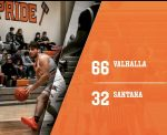 Boys Varsity Basketball beats Santana 66 – 32