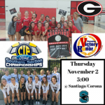 Volleyball CIF Game Preview