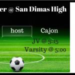 Girls Soccer:  Friday 12/22