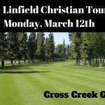 Golf:  Monday 3/12