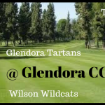 GOLF:  Tuesday 3/13