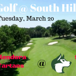 GOLF:  Tuesday 3/20