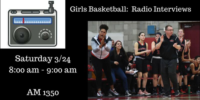 Girls Basketball:  Radio Interviews
