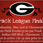 Palomares Track and Field League Finals – Wednesday, May 2nd