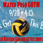 Boy's Water Polo Faces the Ayala Bulldogs 9/20