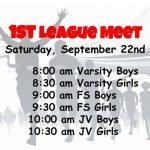 XC League Meet #1