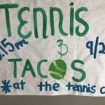 Tennis Game of the Week 9/25