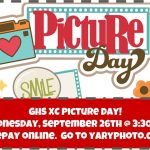 XC Picture Day – Wednesday, September 26th