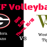 CIF Volleyball Game Time CHANGE