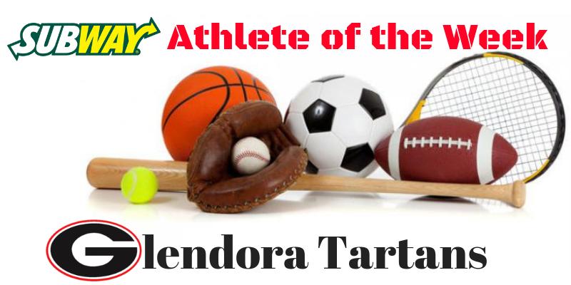 Athlete of the Week  5/13 thru 5/18