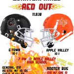 Football CIF Quarterfinals:  RED OUT