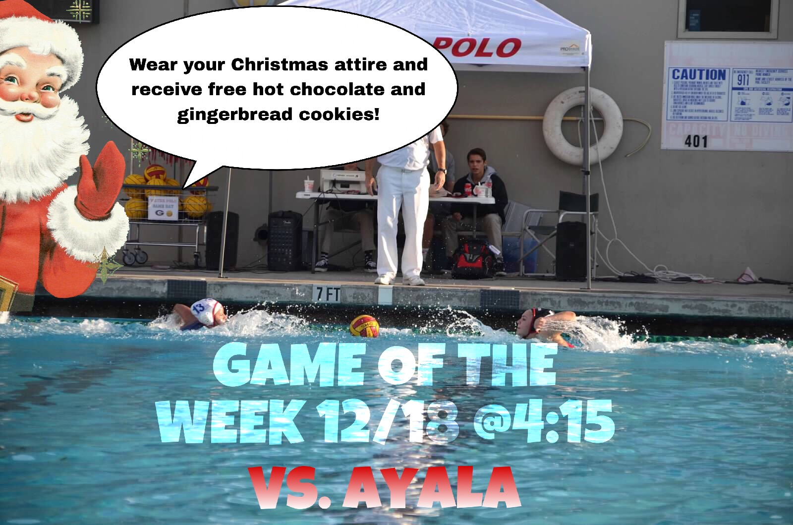 Girls Water Polo Takes On Ayala in the Game of the Week