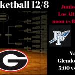 Boys Basketball Games Saturday 12/8