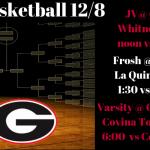 Girls Basketball Games Saturday (12/8)
