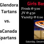 Girls Basketball Saturday December 15