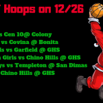 Hoops Action on 12/26