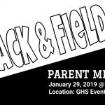 Track and Field Parent Meeting – Tuesday, January 29th @ 7:30